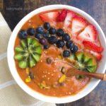 pumpkin smoothie bowl тыквенный смузи боул
