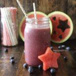Berry watermelon smoothie