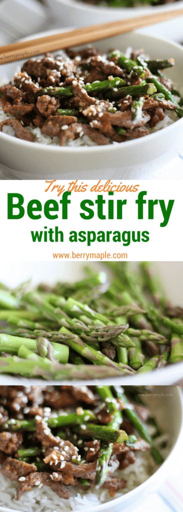 beef stir fry asparagus recipe