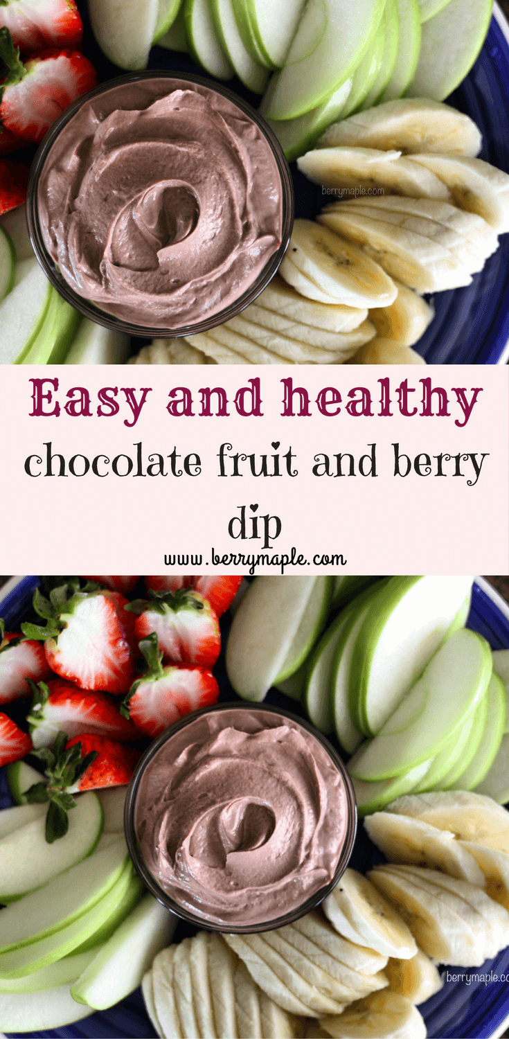 Fruit and berry dip