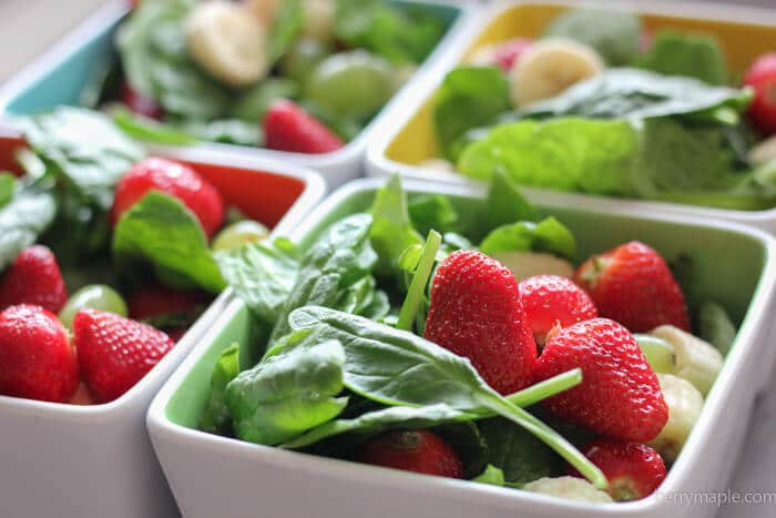freezer strawberry greens smoothie packs