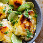 Honey garlic lime chicken thighs