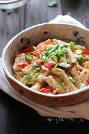 Rotisserie chicken cheese pasta recipe
