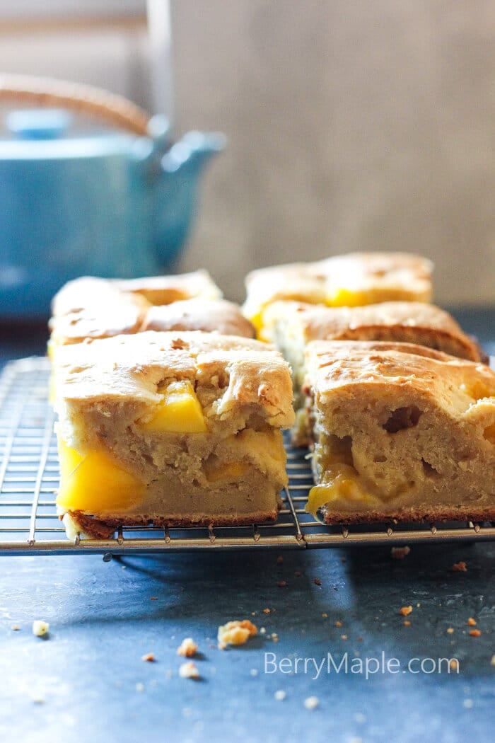 Mango cream cheese moist bread - Berry&Maple