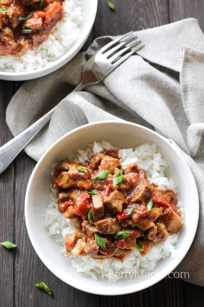 coconut milk skillet pork recipe