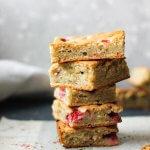 cream cheese strawberry bars recipe www.berrymaple.com