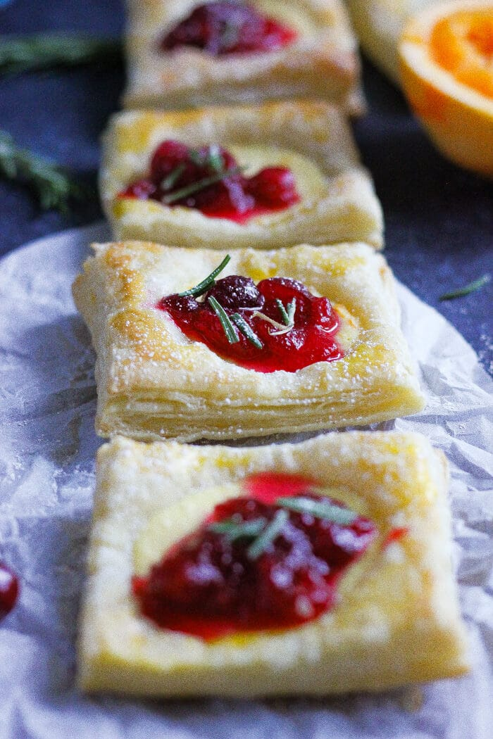 orange ricotta tarts with chunky cranberry sauce www.berrymaple.com