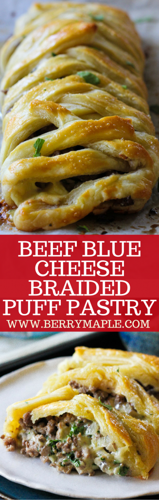 beef blue cheese braided puff pastry recipe #ad #Salemville
