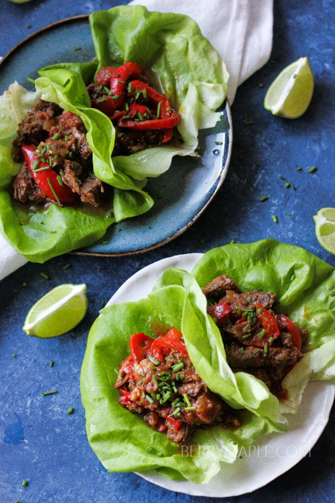 cuban beef lettuce wraps instant pot whole30
