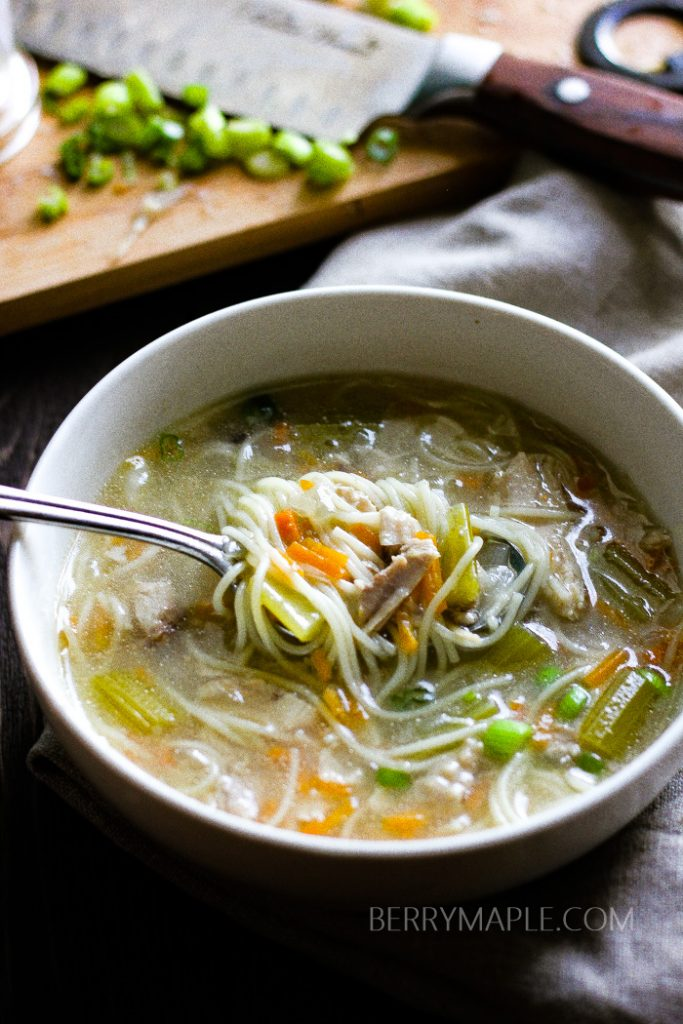 chicken noodle soup instant pot recipe1