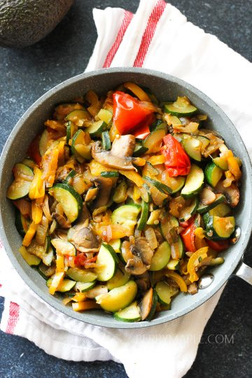 easy sauteed vegetables