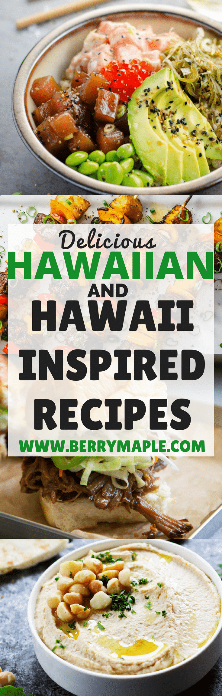 hawaiian recipe roundup, many recipes