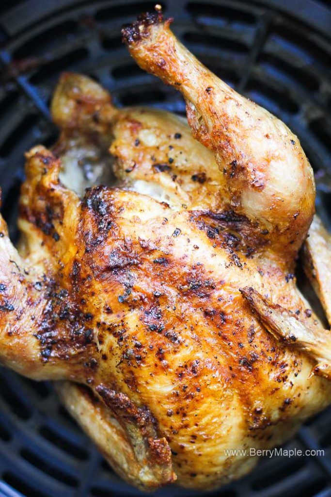 air fryer whole cornish hen