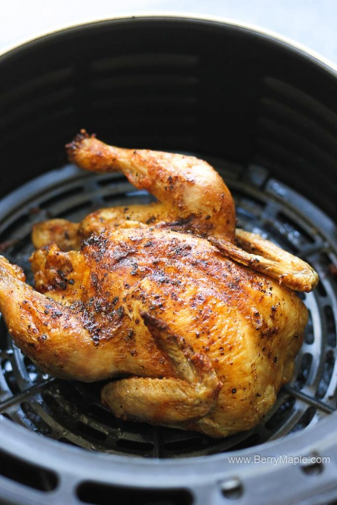 air fryer roasted cornish hen