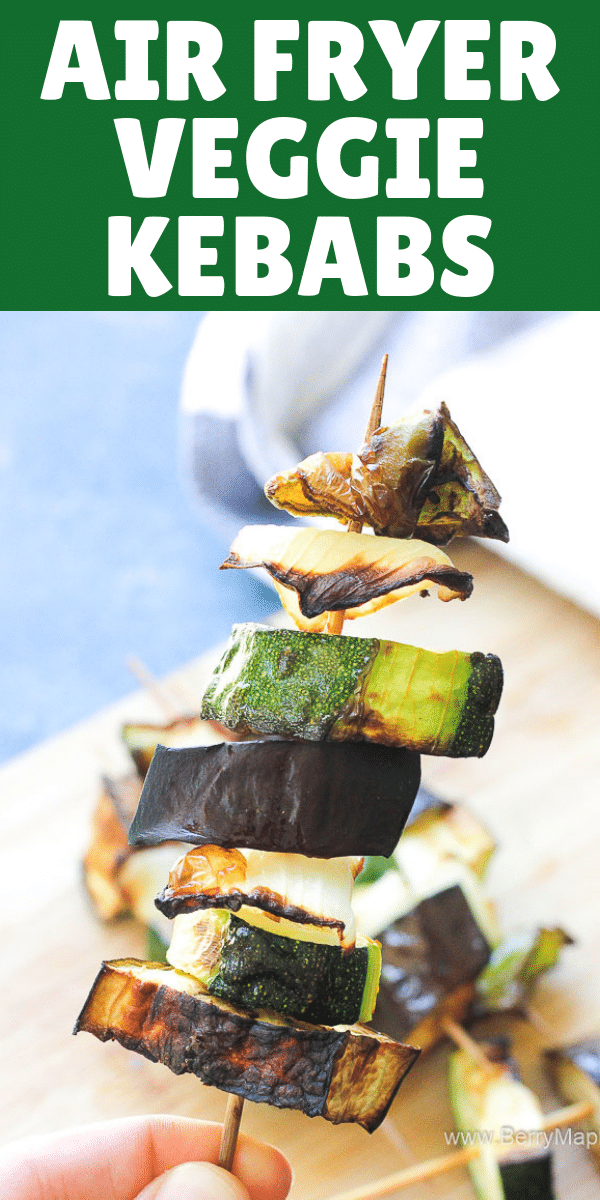 air fryer vegetable skewers