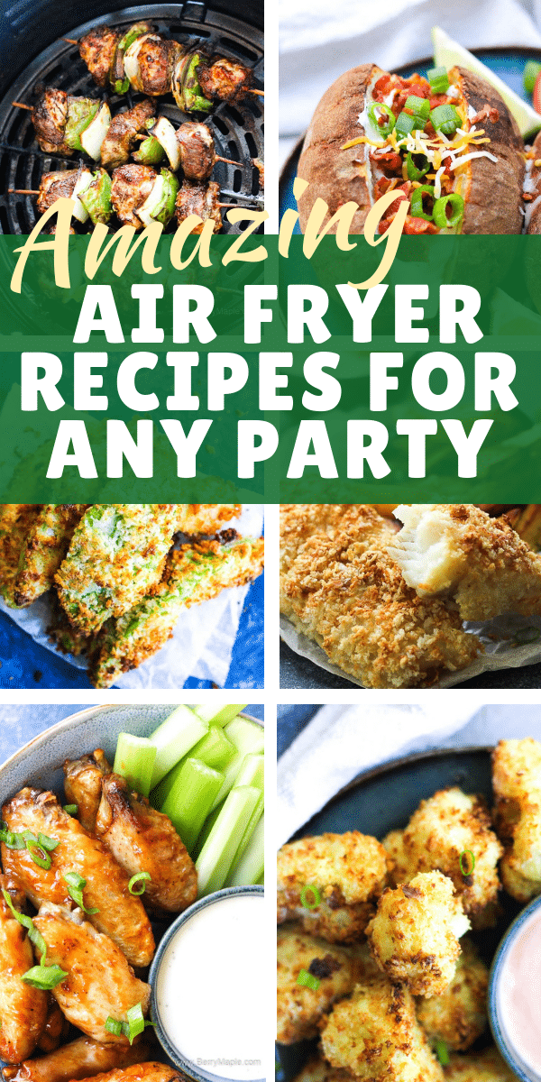 air fryer group party recipes