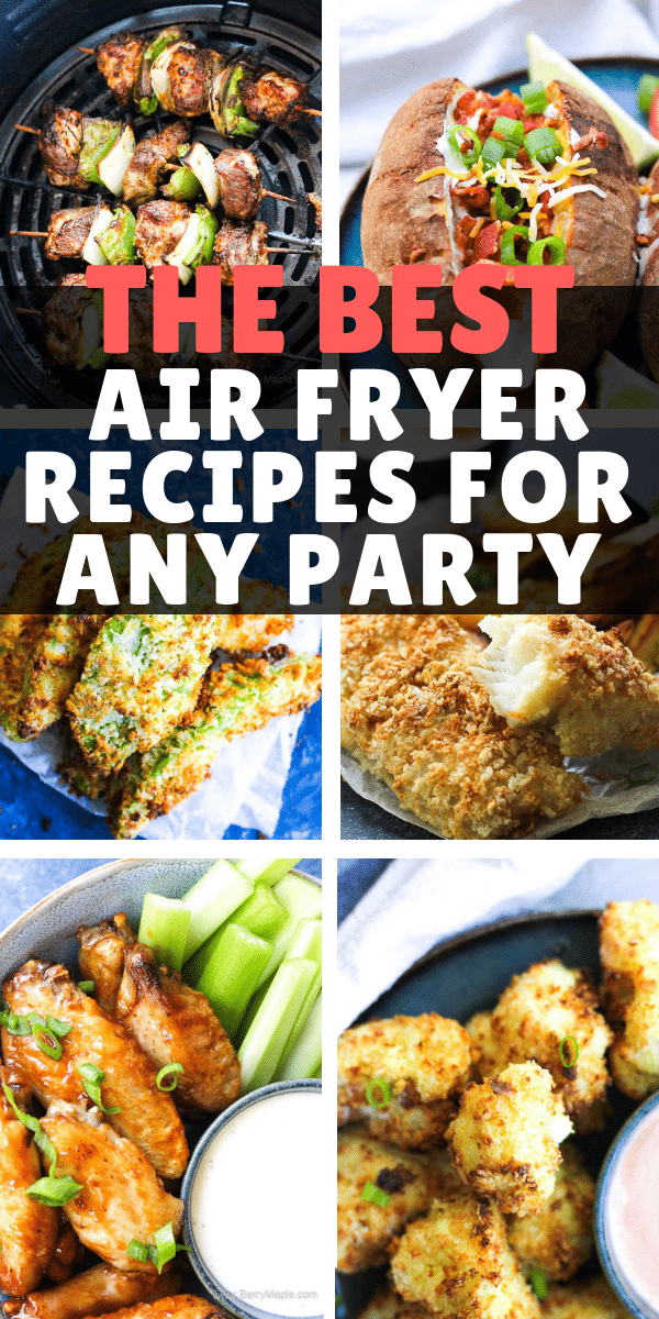 air fryer party food