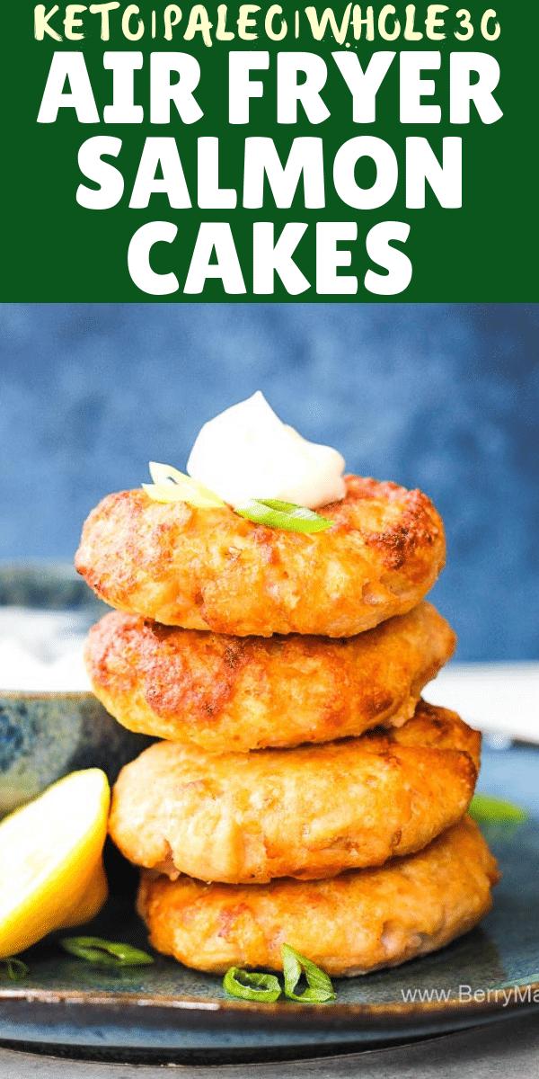 keto salmon cakes