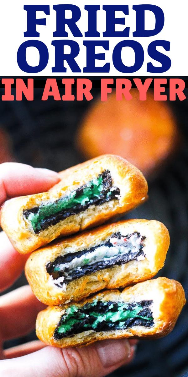 fried oreos cookies