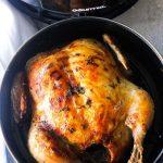 whole chicken air fryer
