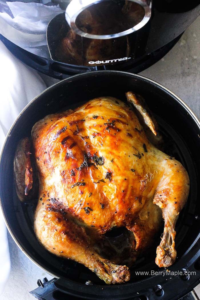 whole chicken air fryer