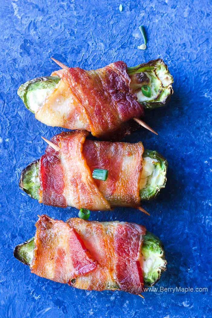 jalapeno poppers air fryer bacon
