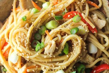 the bowl of lo mein