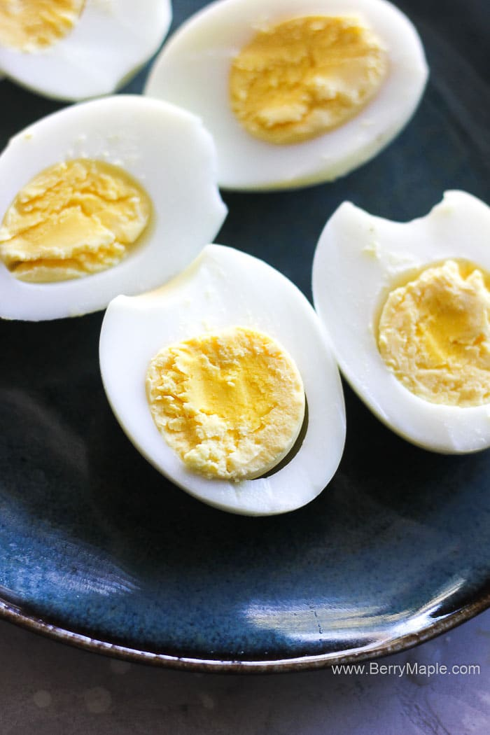 Air fryer hard boiled eggs