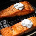 salmon fillets in air fryer