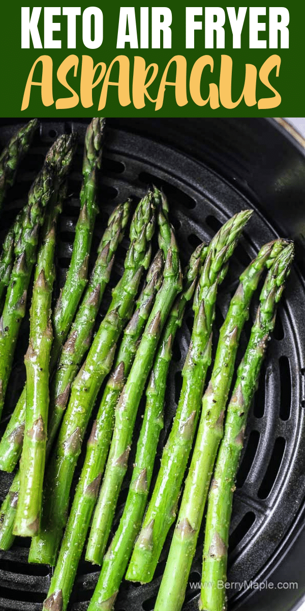 air fryer asparagus roasted