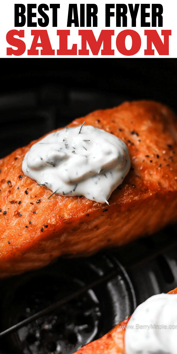 air fryer salmon fillet