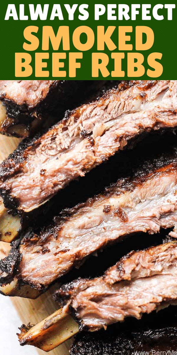 image with smoked beef ribs