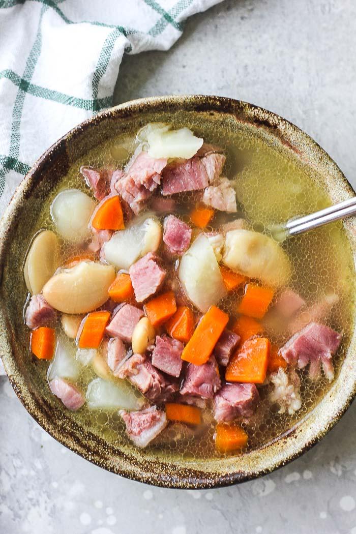 ham bean soup