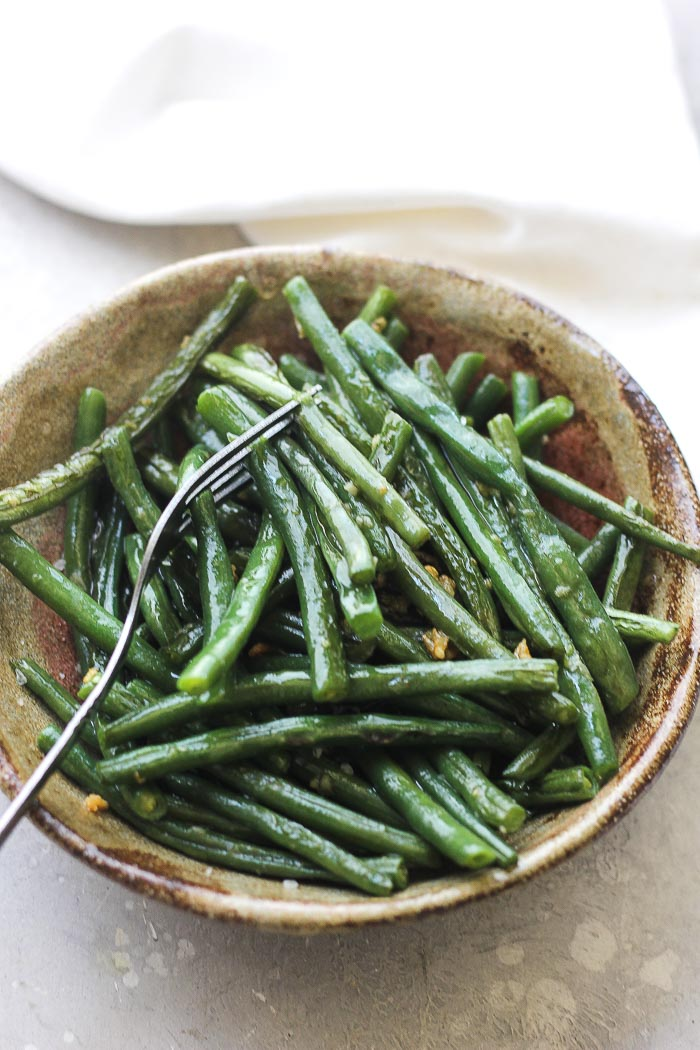 butter garlic green beans