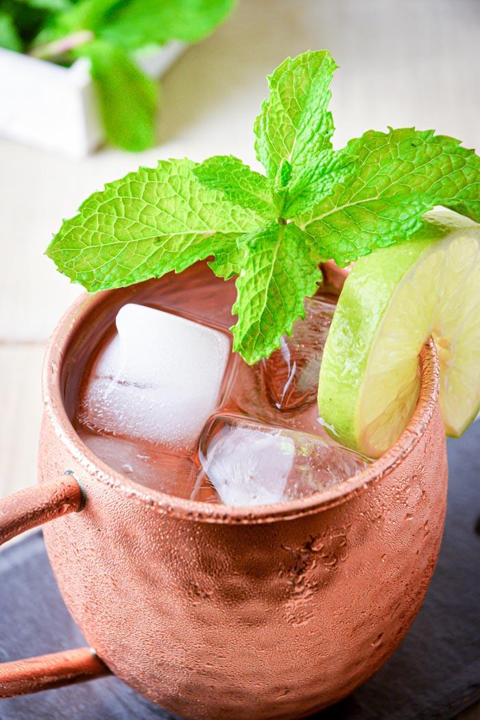 Bourbon mule