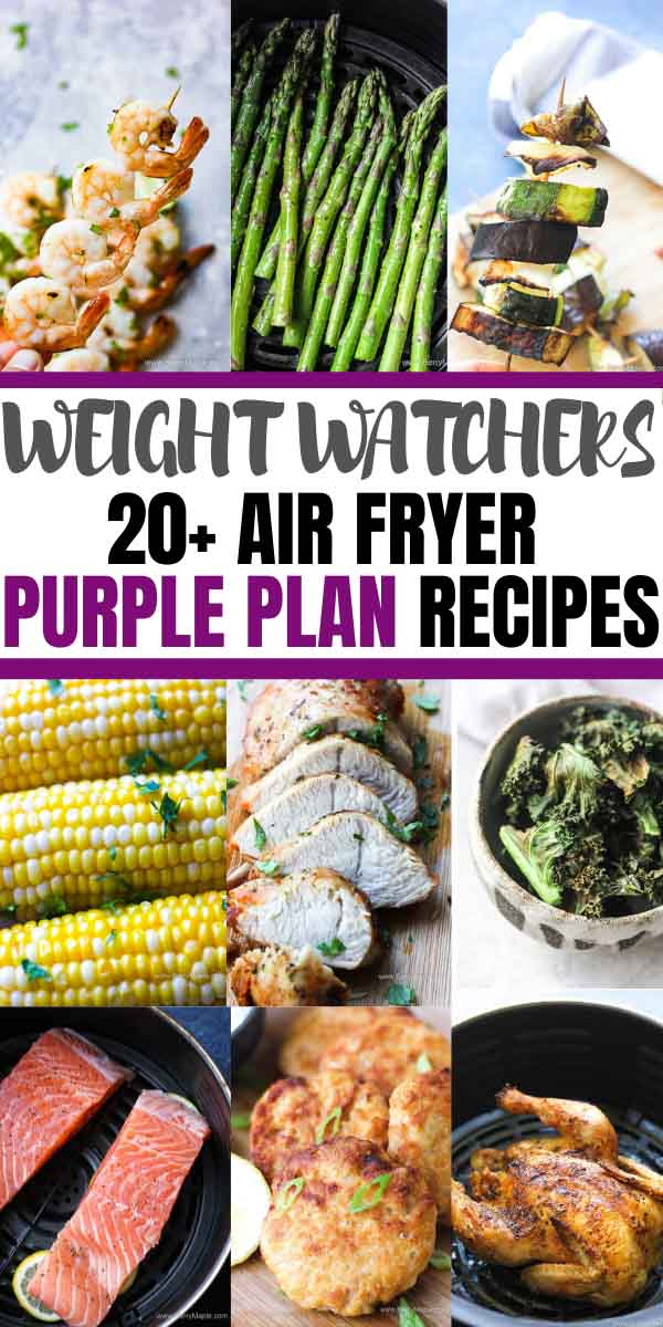 Weight watchers purple plan recipes for air fryer