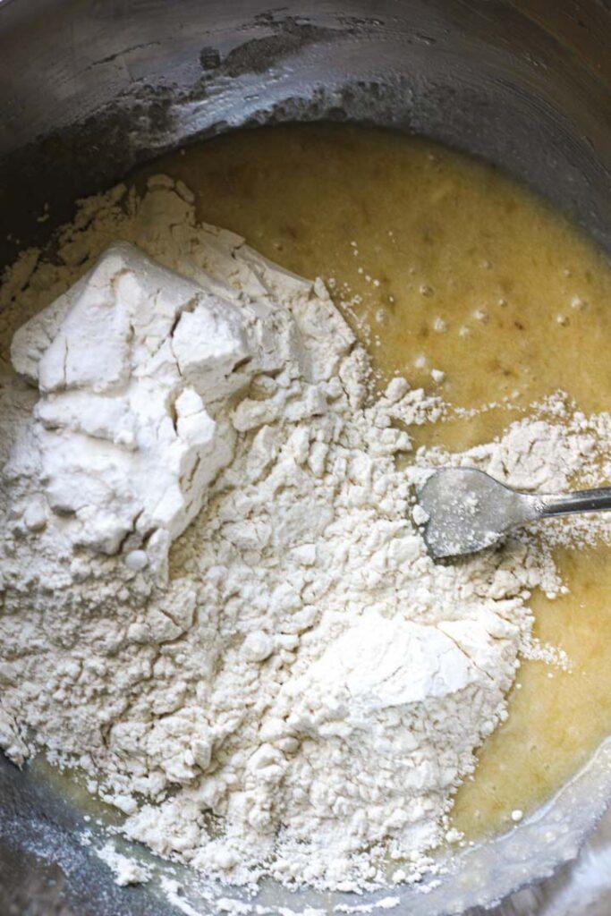 bread dough preporation
