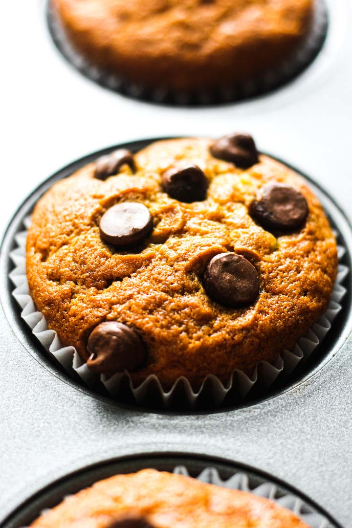 muffins with chococlate chips