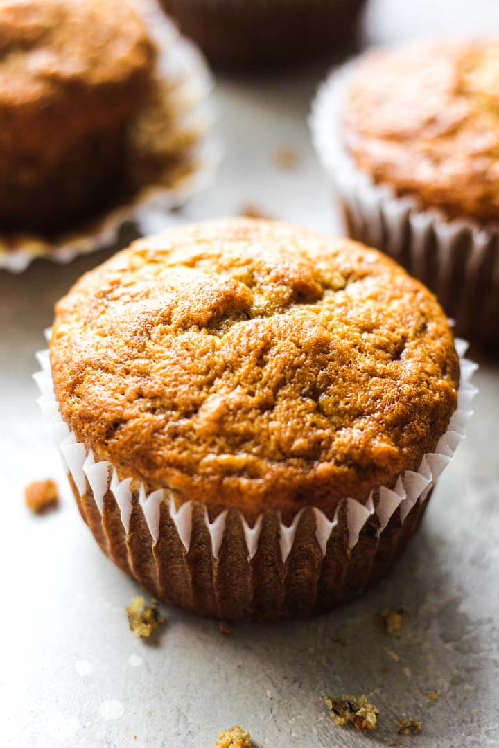 muffin in the muffin cup
