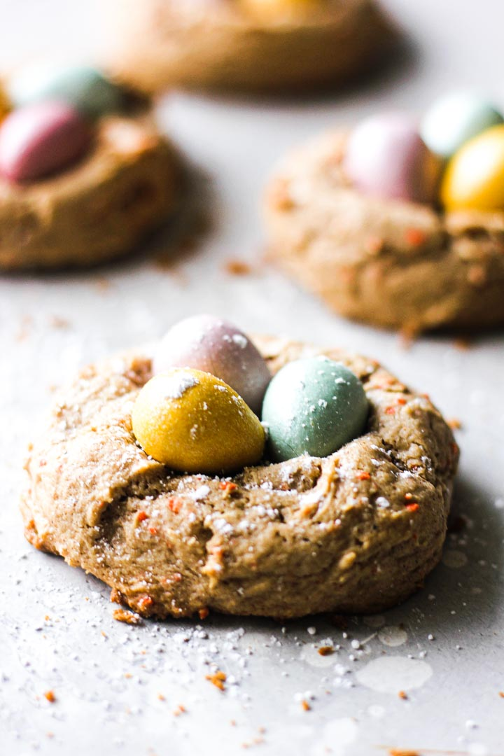 cookies with candies on top