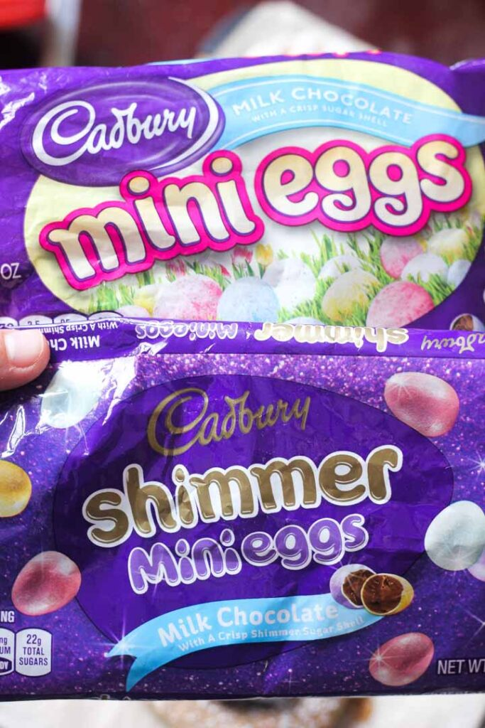 mini eggs candies