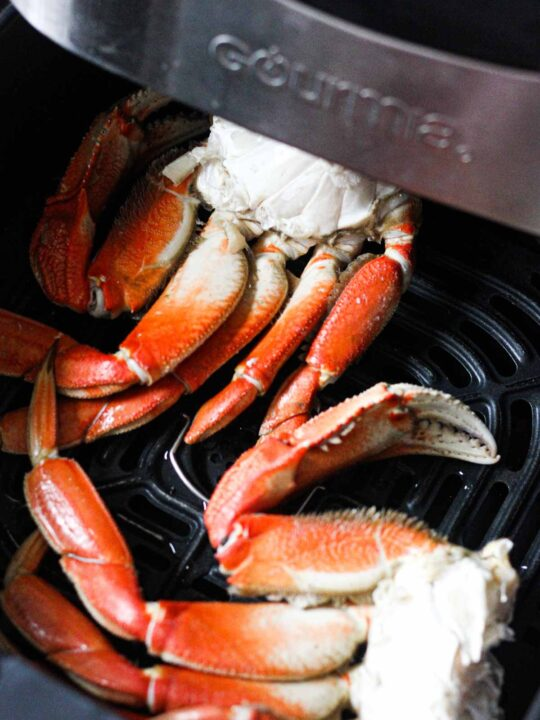 dungenes crab in air fryer