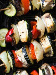 cooking fish kebabs in air fryer